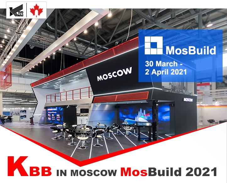KBB IN MOSCOW MOSBUILD 2021