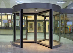 3/4 Wing Automatic Revolving Door & Automatic Revolving Door Manufacturer 3/4 Wing Automatic ... Pezcame.Com