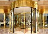 Revolving door have a good energy saving performance