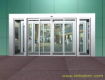 How to do when automatic door cannot open and close properly?