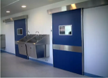 Do you know hospital operating door?