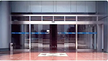 How to through automatic doors correctly and safely in the mall?(1)