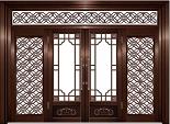 How to maintain copper door?