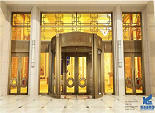 Some installation considerations of automatic revolving door
